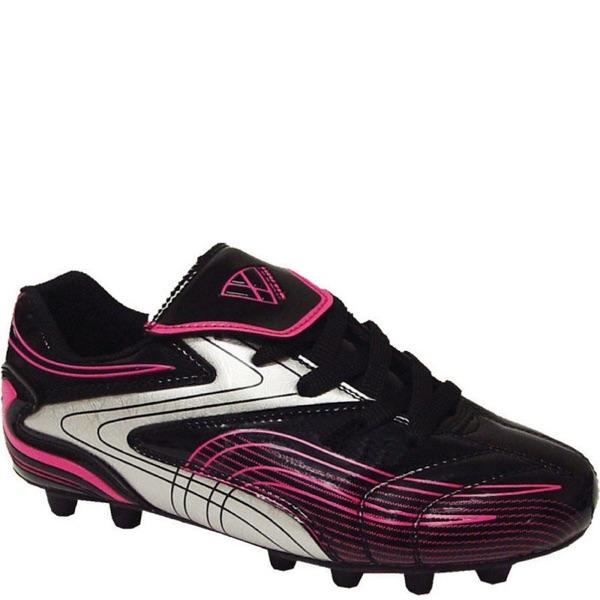 Kid S Vizari Striker Fg Soccer Cleats Black Pink Nib