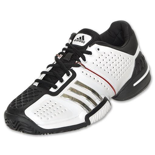 s adidas barricade 6 0 tennis shoes white silver